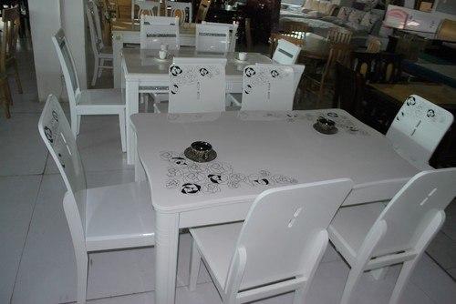 就餐桌桌面的材质而言