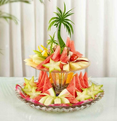 精品展示 水果拼盘图片